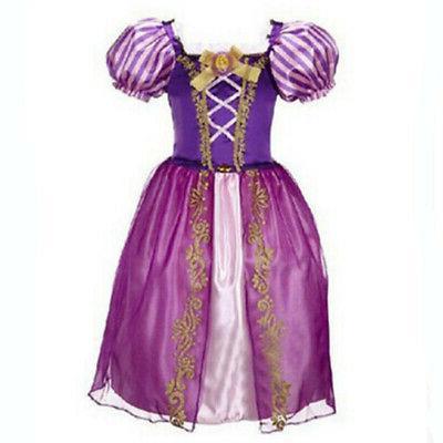 Kids Girls Fairytale Dress Up Cinderella Outfit