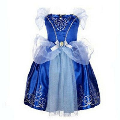 Kids Girls Princess Fairytale Dress Cinderella