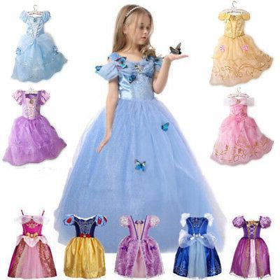 kids girls costume princess fairytale dress up