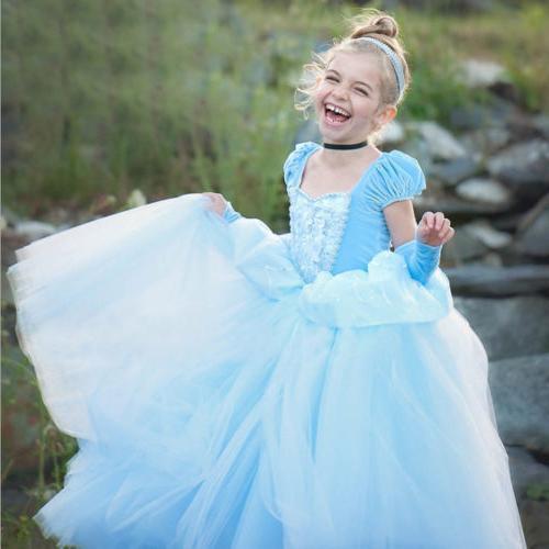 Costume Elsa Anna Cinderella Belle Costume
