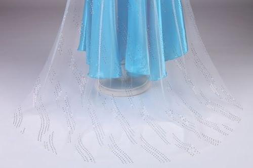Kids Girls Maxi Princess Dresses Cosplay Costumes