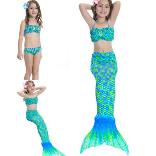 Kids Mermaid Tail Costume Mono Beahwear