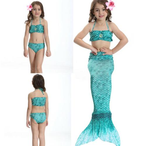 Kids Tail Costume Swimmable Mono Beahwear