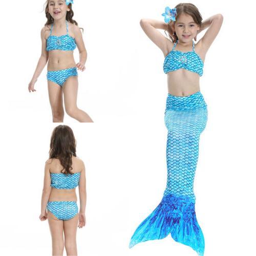 Kids Mermaid Tail Costume Mono Fin Beahwear