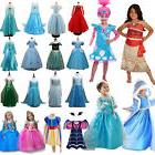 Kids Girls Princess Dress Up Fancy Costume Party Cosplay Clo