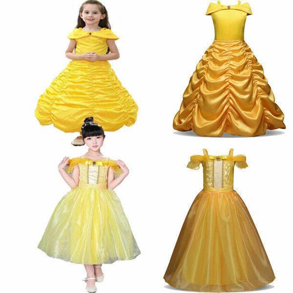 Dress Up Belle Cinderella Aurora Rapunzel☆