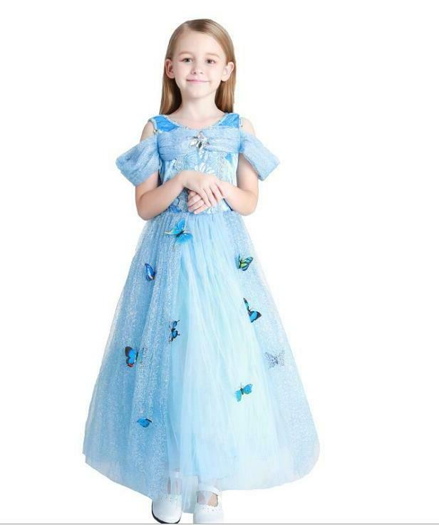 Kids Princess Dress Cinderella