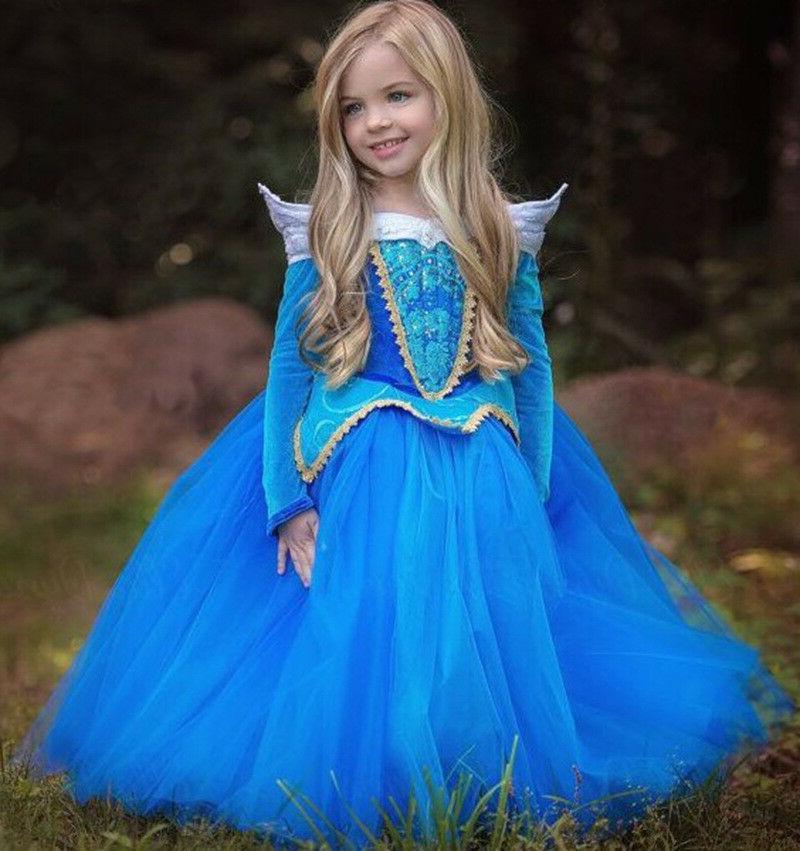 Kids Cinderella Aurora Rapunzel☆