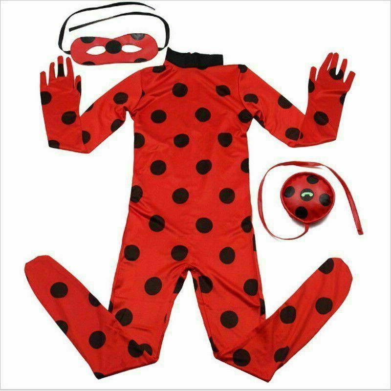 Kids Girls Red Cosplay Costume Fancy / Jumper