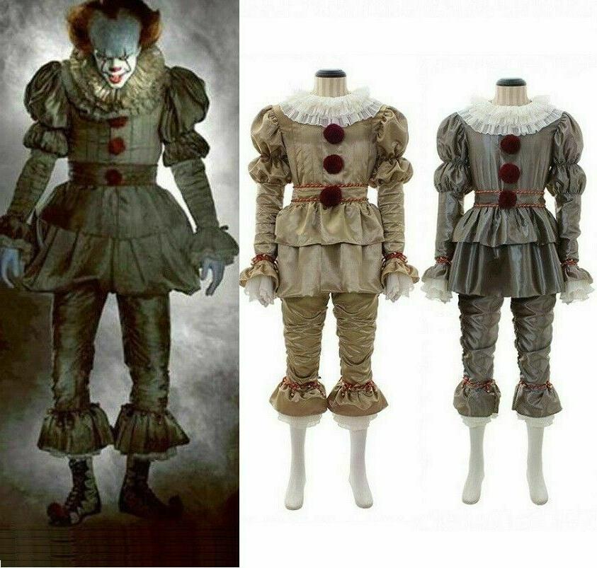 Kids Girls Cosplay Suicide Pennywise Costume