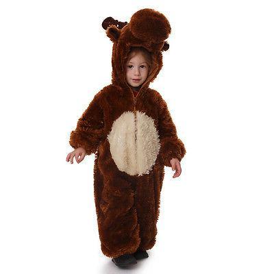 kids plush reindeer costume by