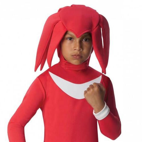Knuckles Costume Kids Sonic the Hedgehog Fancy Dress