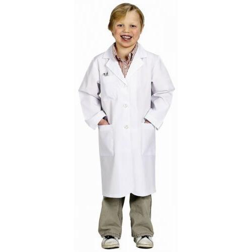 lab coat kids scientist doctor costume halloween