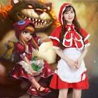 League of Legends Annie LOL Little Red Hood Sexy Maid Cospla