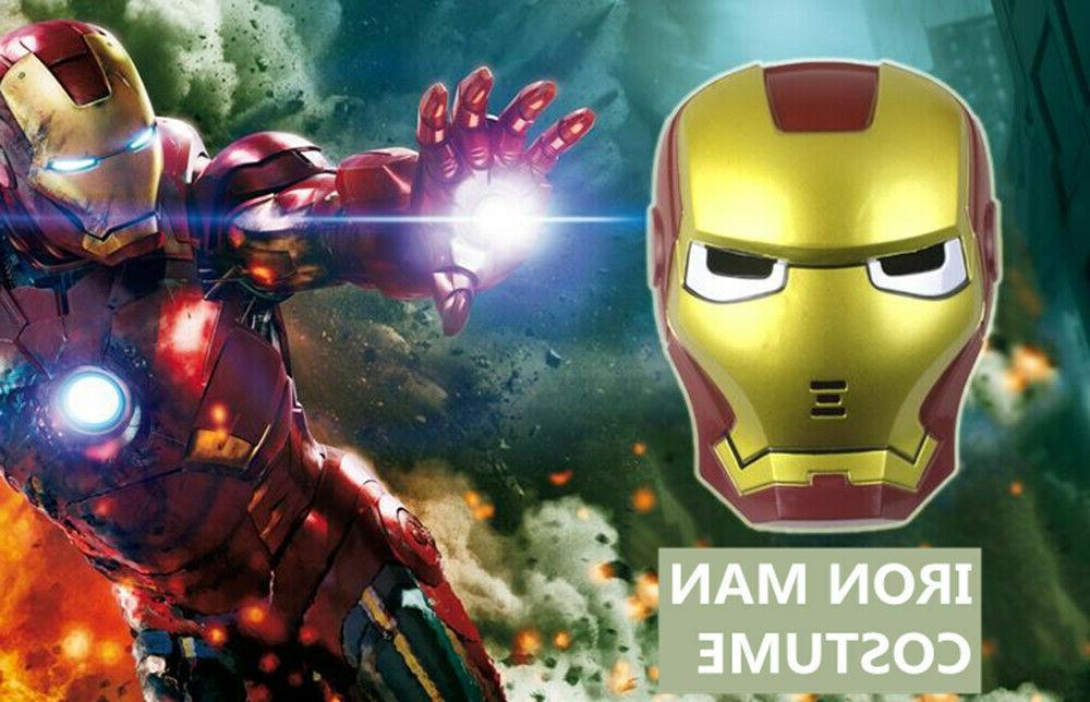 LED Hero Cloak &Hulk Iron Costume