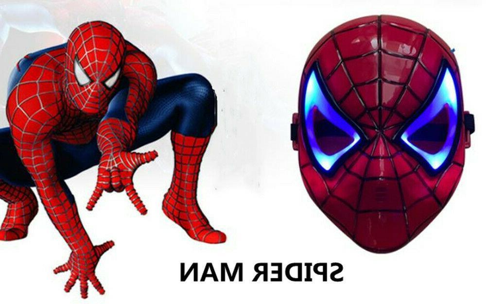 LED Hero Cloak Iron Man Avenger Kids Costume
