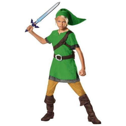 Link Costume of Halloween Dress