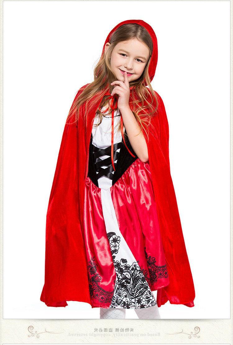 Little Riding Costume Kids Girls Tale Fancy ZG