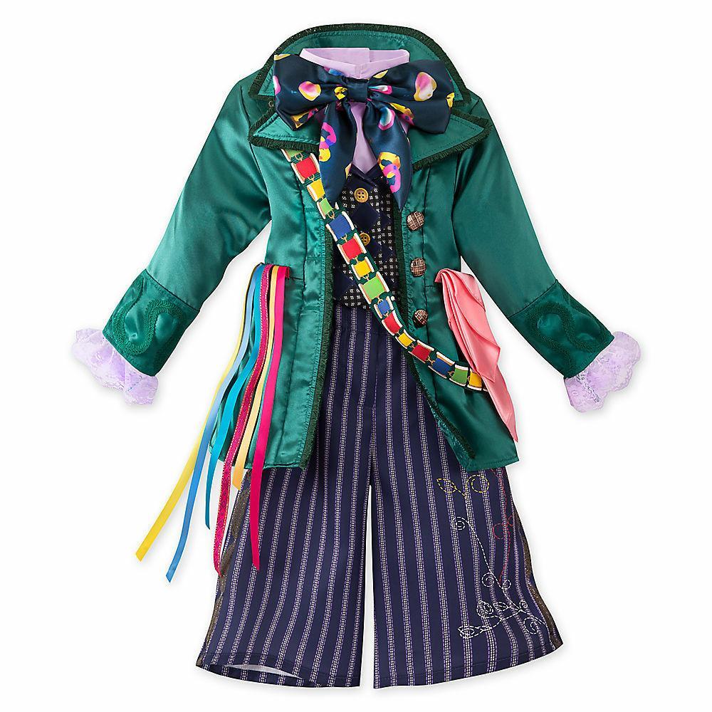 Disney Store Mad Hatter Kids Costume 4 5/6  Alice in Wonderl
