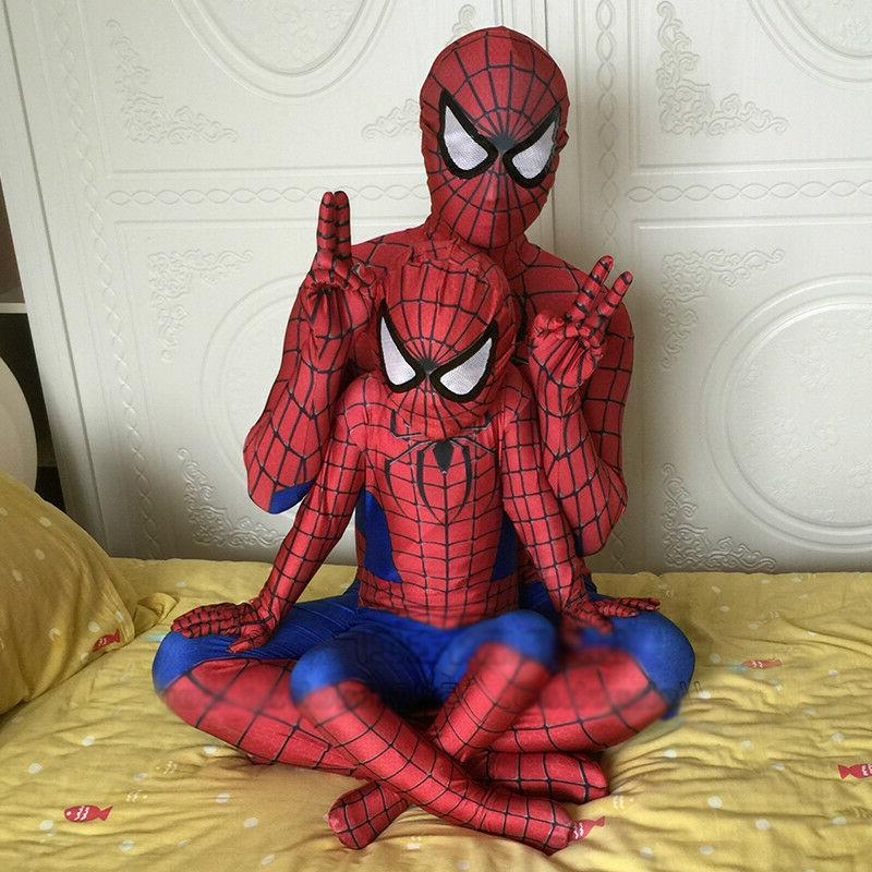 Spiderman Cosplay Costume Avengers Party Fancy Dress Jumpsui