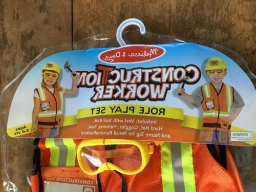 Melissa & Worker Role Dress-Up Set NEW