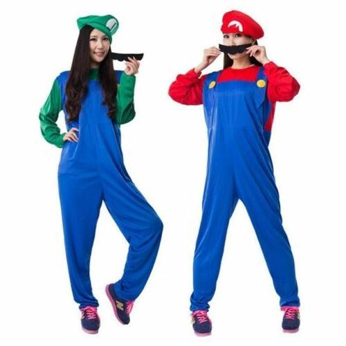 Men's Mario Luigi Bros Fancy