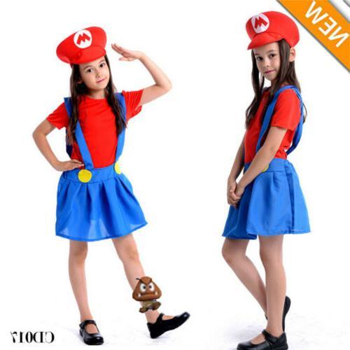 Men's Mario Bros Fancy Dress