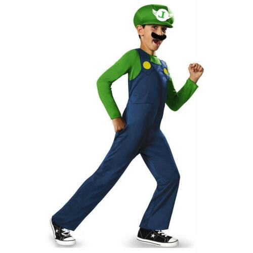 Mens Mario Brothers Games Plumber Fancy Clothes