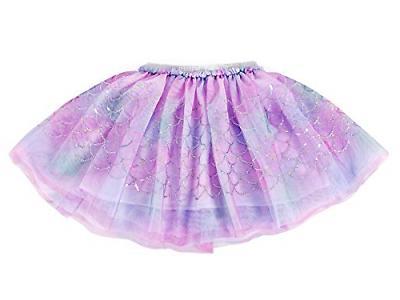 AmzBarley Costume Dress Fish Scale Tulle
