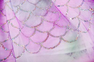 AmzBarley Mermaid Costume Dress Fish Tulle Skirt