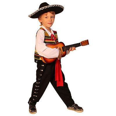mexican mariachi kids costume by