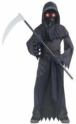 Fun World Fading Eye Phantom Costume, Medium 8-10, Multicolo