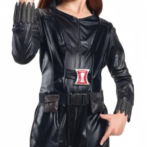 Natasha Black Widow Girls Avengers Outfit