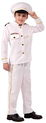 Navy Admiral Child Costume Medium
