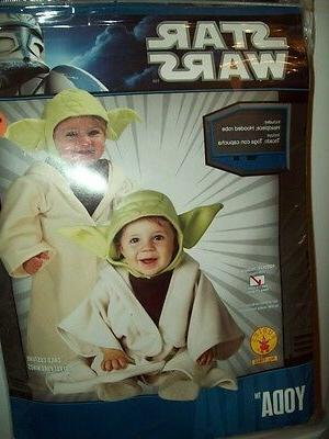NEW Childs STAR WARS YODA JEDI HALLOWEEN COSTUME ROBE TODDLE