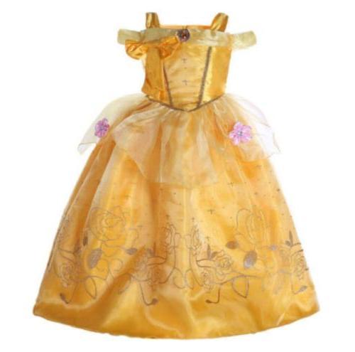 New Disney Princess Aurora Costume Girls Cosplay