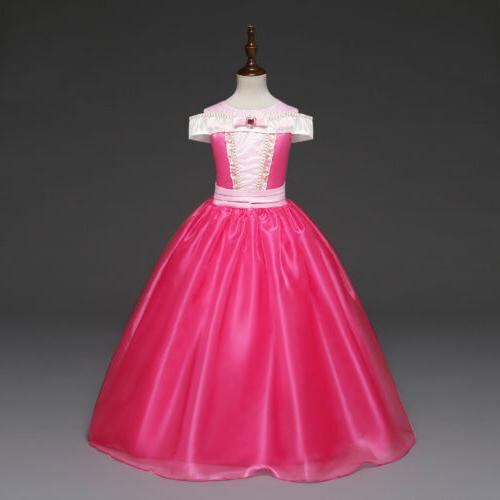 New Disney Costume Kids Girls Party Halloween Fancy Dress