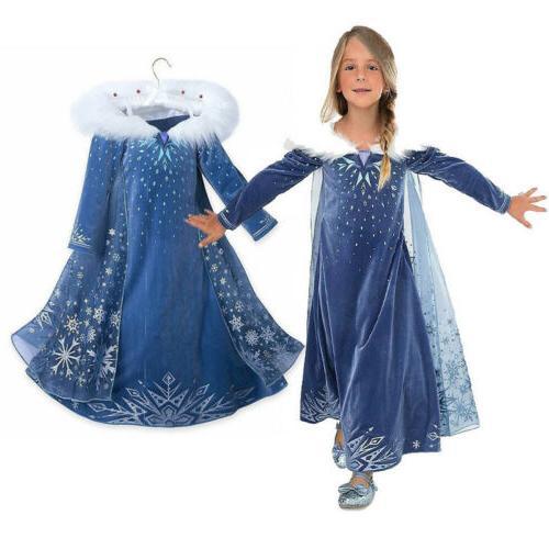 New Disney Kids Girls Cosplay Halloween Fancy