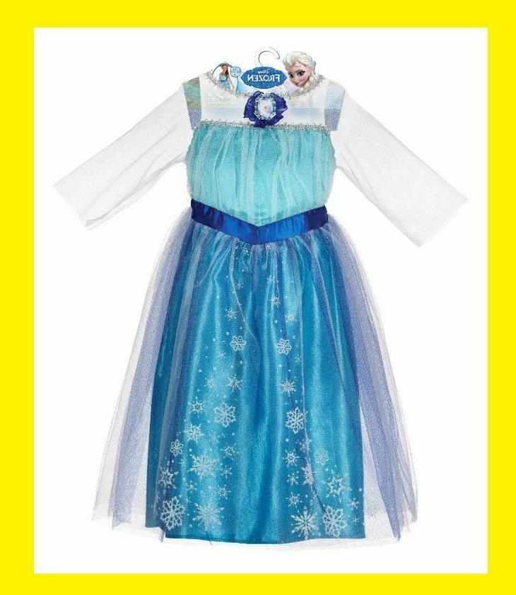 new official frozen elsa dress child size