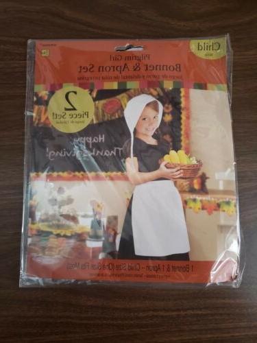 new pilgrim girl costume 8 apron