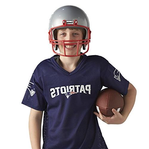Franklin Sports Deluxe Youth Uniform Kids Chinstrap and Numbers Football Costume Girls