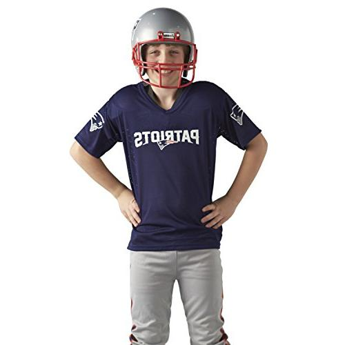 Franklin Sports Youth Uniform NFL Kids Helmet, Chinstrap and Numbers Included Costume for Girls
