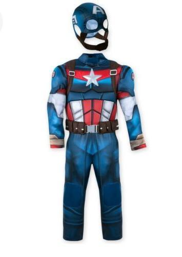 NWT Disney Captain America Costume