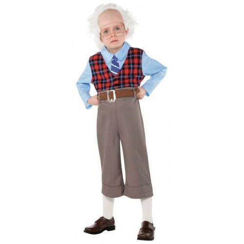 old man costume kids grandpa halloween fancy