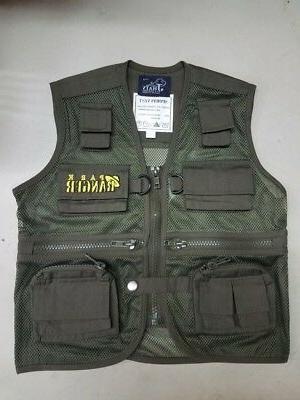 Child Park Ranger Vest & Safari Hat Combo Explorer Cargo Ves