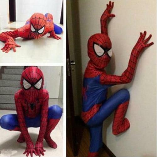 party boys teen spiderman costume kids superhero