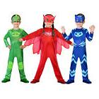 PJ Masks Owlette Catboy Gekko Fancy Dress Costume Halloween