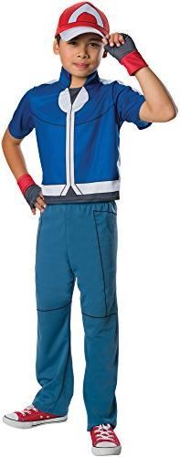 Rubie's Costume Pokemon Ash Deluxe Child Costume, Small