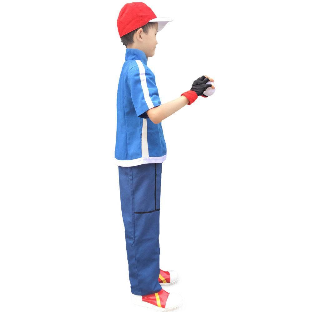 Pokemon X and Y Ash Ketchum Costume Kids