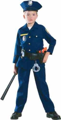 police officer cop blue uniform career day